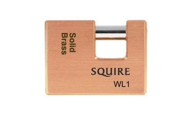 Squire WL1, WL2 WL3 Straight Shackle Padlock