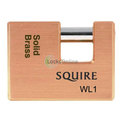 Main photo of Squire WL1, WL2 WL3 Straight Shackle Padlock