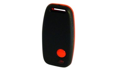 Sentry SEN-R 1 channel french rolling code transmitter, red & black casing