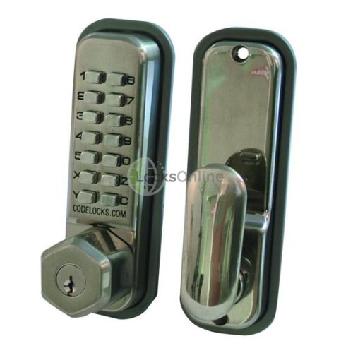 Main photo of CODELOCKS CL200 Series Digital Lock With Key Override