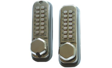 Codelock CL290 Mortice Latch Back To Back Push Button Lock