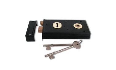 Gibbons 60 Sash Rim Lock - Reversible Latch
