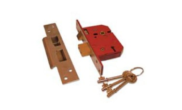 UNION 2234E Fire Rated BS3621 5 Lever Sashlock