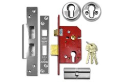 UNION Fire-Rated BS3621 Euro Profile Sashlock
