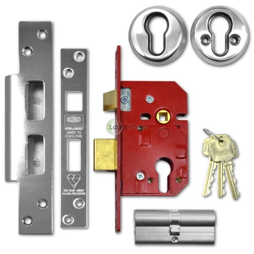 Main photo of UNION Fire-Rated BS3621 Euro Profile Sashlock