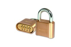 Master Lock 175 Brass Combination Padlock