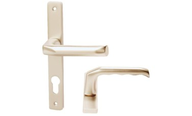 Hoppe 70mm PZ uPVC Handles - 205mm (180mm fixings)