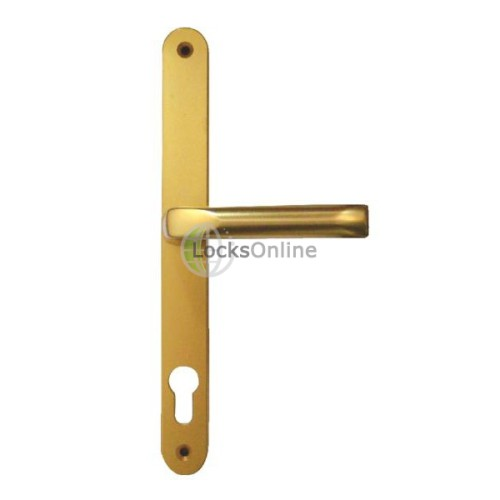 Main photo of Hoppe Offset 92/62 PZ Retro Style uPVC Lever & Pad Handles - 270mm (240mm fixings)