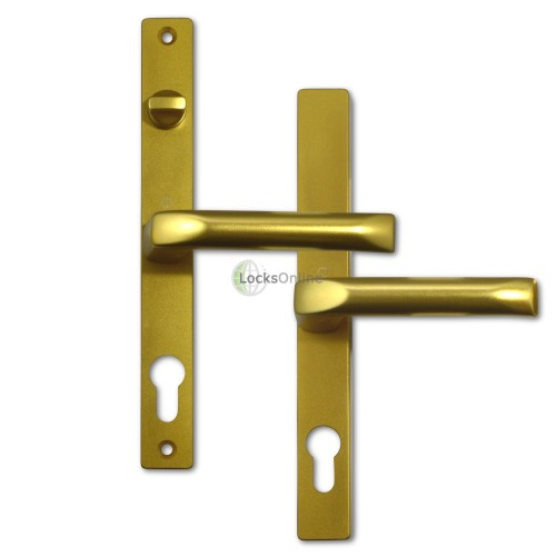 Main photo of Hoppe 68mm PZ uPVC Handles with Snib - 235mm (215mm fixings)