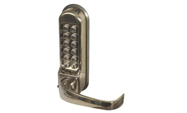 Codelock 520/525 Push Button Lock with Mortice Sash Lock