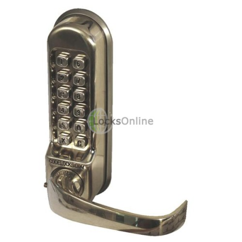 Main photo of Codelock 520/525 Push Button Lock with Mortice Sash Lock