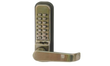Codelock 425 Push Button Combination Locks with Sash Lock