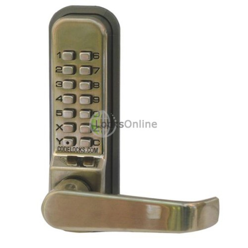 Main photo of Codelock 425 Push Button Combination Locks with Sash Lock