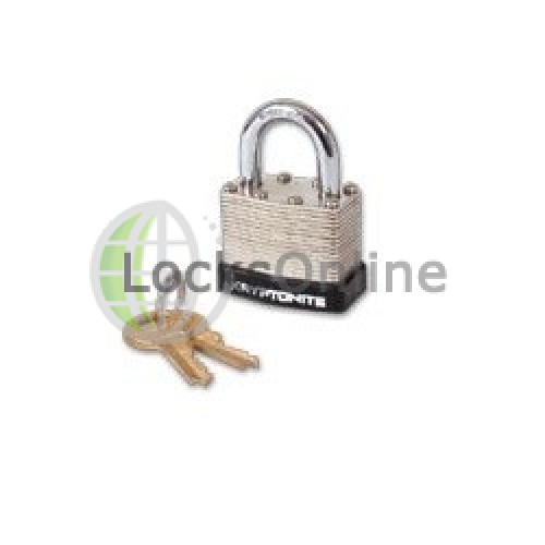 Main photo of KRYPTONITE Laminated Steel Padlock Long Shackle