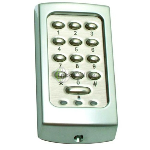 Main photo of Paxton Touchlock K series stainless steel compact keypads