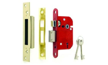 British Standard BS3621 Era Fortress Front Door Sash Lock
