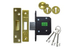 Legge 5641 & 5761 Fire-Rated BS3621 Dead Lock