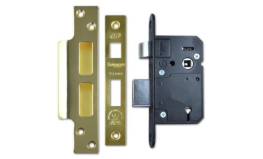 Old-Style Legge 5 Lever BS3621 British Standard Sash Lock
