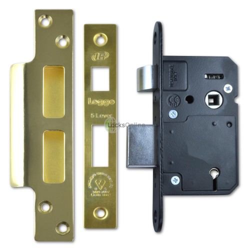 Main photo of Old-Style Legge 5 Lever BS3621 British Standard Sash Lock