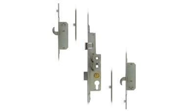 Avocet 2 Hooks 4 Rollers Split Spindle UPVC Door Lock