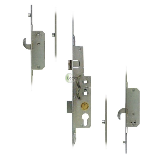 Main photo of Avocet 2 Hooks 4 Rollers Split Spindle UPVC Door Lock