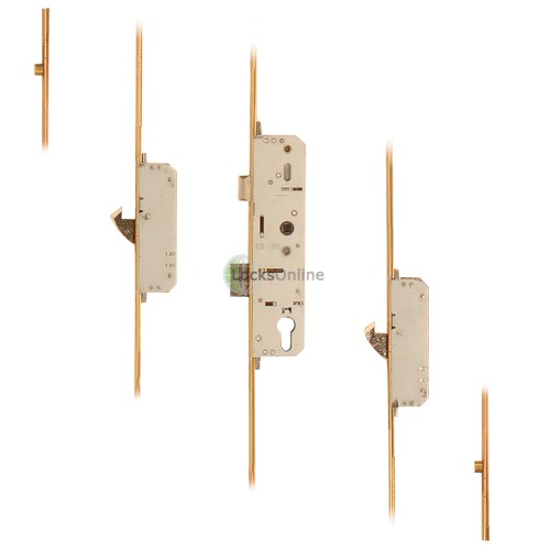 Main photo of Vitawin 2 Hooks, 2 Rollers Lever Operation UPVC Door Lock