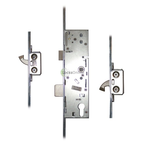 Main photo of Era 2 Hooks 20mm Radius Faceplate (to suit timber door) Multipoint Lock