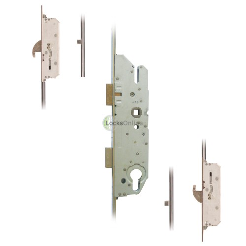 Main photo of Fuhr Key Operated 2 Hook 2 Roller UPVC Door Lock