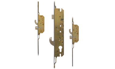 Millenco 2 Hooks, 2 Deadbolts Latch & Hookbolt UPVC Door Lock