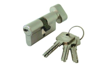 Cisa Astral Euro Double Key and Thumbturn