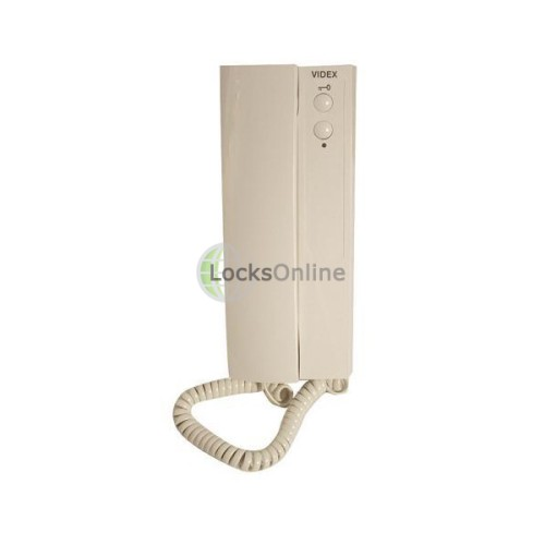 Main photo of Videx 3151A 2 Button Handset - Electronic Call Tone