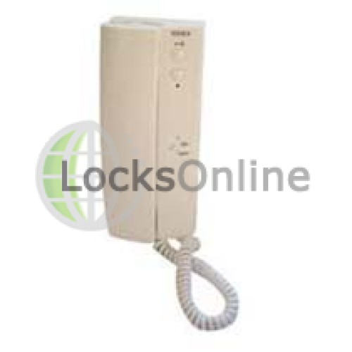 Main photo of Videx 3172A 2 Button Handset with on/off Electronic Call Tone