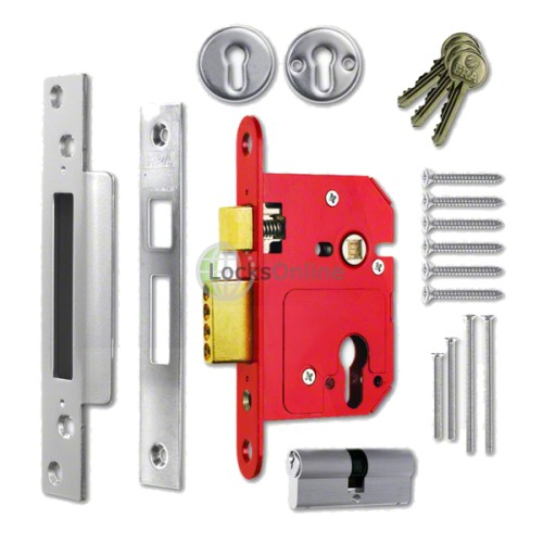 Main photo of ERA Fortress BS3621 High Security Euro Cylinder Sashlock