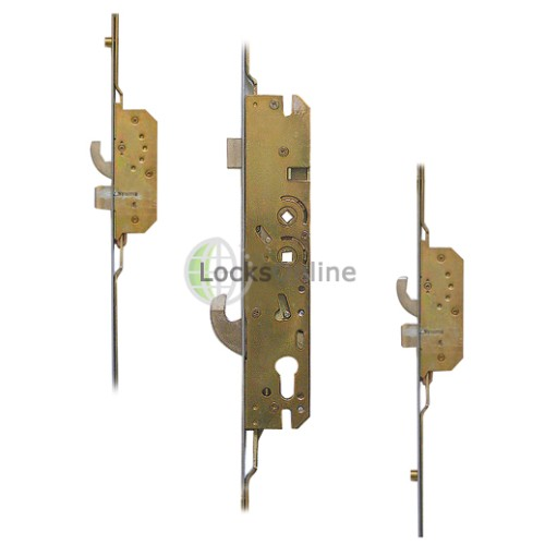 Main photo of Millenco 2 Hooks, 2 Deadbolts, 2 Rollers UPVC Door Lock