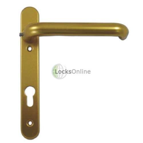 Main photo of Hoppe 92pz uPVC Handles with Extended Long Levers - 220mm (122mm fixings)