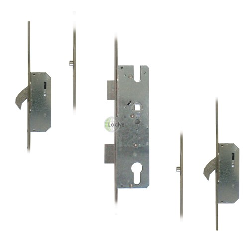 winkhaus 2 hook 1 deadbolt multipoint upvc door lock Winkhaus multipoint door lock specification: spindle to key: 92mm backset: 28mm, 35mm, 45mm, 55mm lever lever or lever pad locking operation 2 hook 1 centre latch 1 deadbolt this winkhaus multipoint door lock can be handed lh or rh by removing the centre latch and turning it 16 or 20mm wide lockstrip.