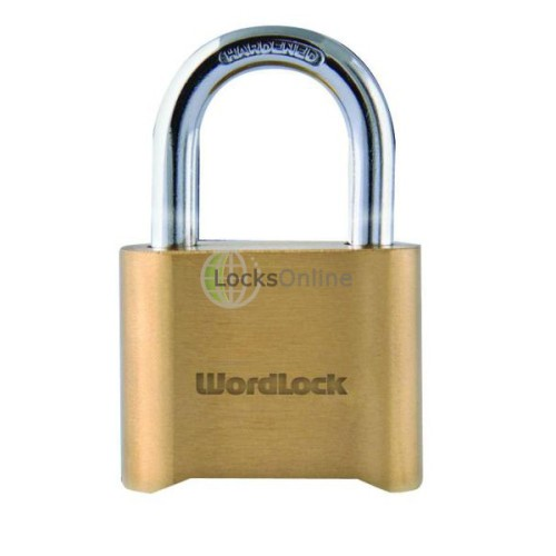 Main photo of Era Wordlock Brass Combination Padlock