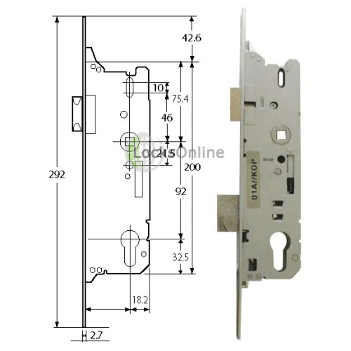 Fuhr Deadbolt & Overnight Lock