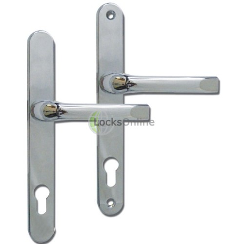 Main photo of ASEC 92mm PZ uPVC Lever Handles- 240mm (211mm fixings)