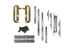 Mila Fearless Patio Door Lock and Handle Kit