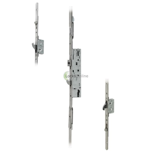 Main photo of Yale Doormaster Professional 2 Hooks, 2 Rollers UPVC Door Lock