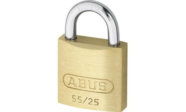 Abus 55 Series - Keyed Alike Brass Padlocks