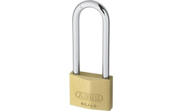 ABUS 65 Series Brass Long Shackle Keyed Alike Padlock