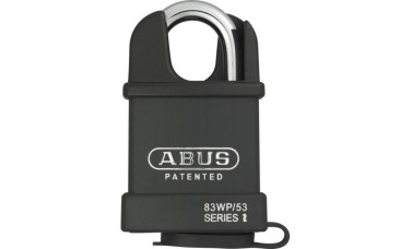 ABUS 83WP Series Weatherproof Steel Closed Shackle Padlock