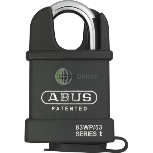 Main photo of ABUS 83WP Series Weatherproof Steel Closed Shackle Padlock