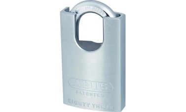 ABUS 83 Series Brass Closed Shackle Padlock Without Cylinder