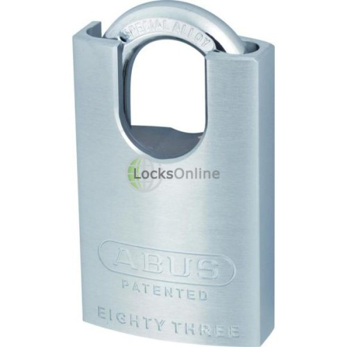 Main photo of ABUS 83 Series Brass Closed Shackle Padlock Without Cylinder