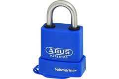 ABUS 83WPIB Series Marine Brass Open Stainless Steel Shackle Padlock Without Cylinder