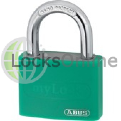 Main photo of ABUS T65AL Series Ecolution Aluminium Open Shackle Padlock