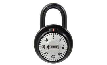 ABUS 78 Series Dial Combination Open Shackle Padlock